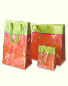 Подаръчна хартиена торба лукс