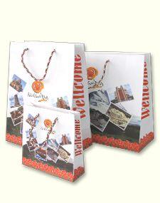 Подаръчна хартиена торба серия България