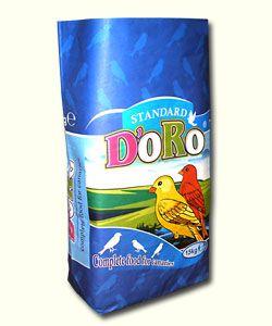 paper bag /sack/ for 15 kg of grain food for birds